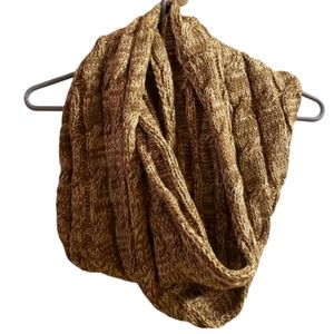 C.C Exclusives Infinity Cable-Knit Scarf